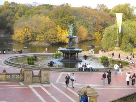Fall in Central Park, 2009